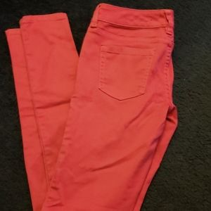 Straight leg pink size 3 jeans